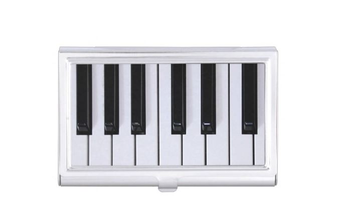Piano Business Card Holder