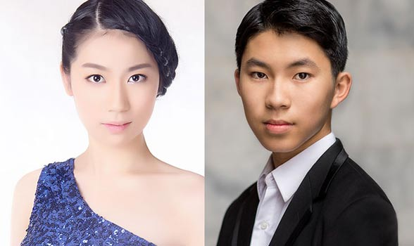 Wei Luo and Elliot Wuu portraits
