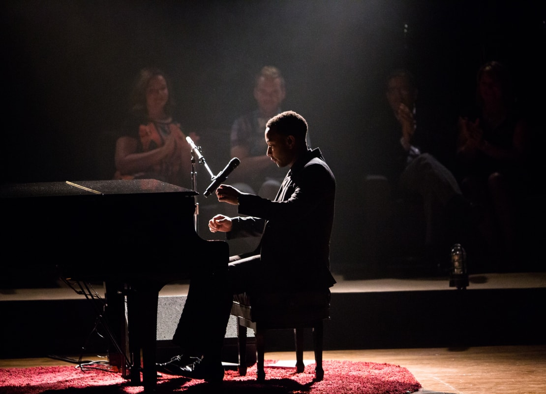 gentleman playing piano
