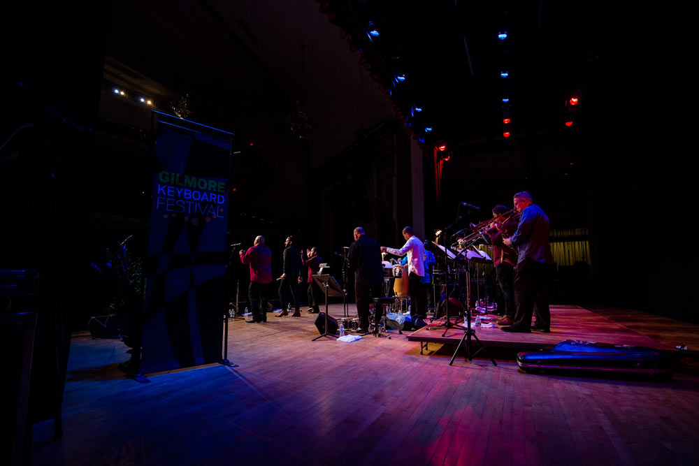 Spanish Harlem Orchestra performing on stage