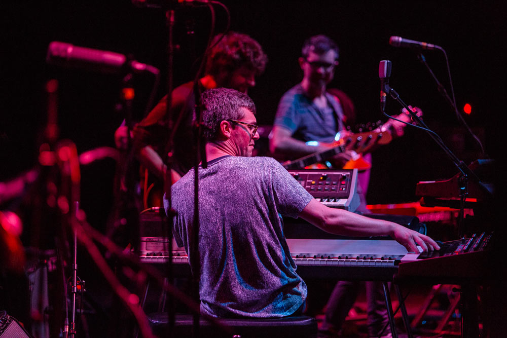 Snarky Puppy performing on stage