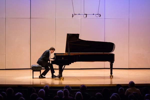 Daniil Trifonov at piano