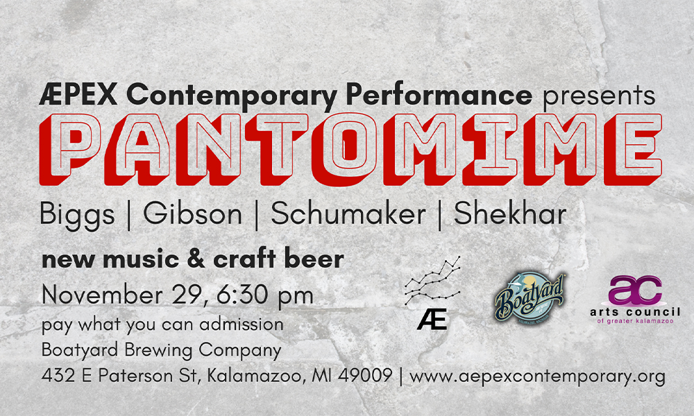 Apex Contemporary Performance presnets Pantomime flyer