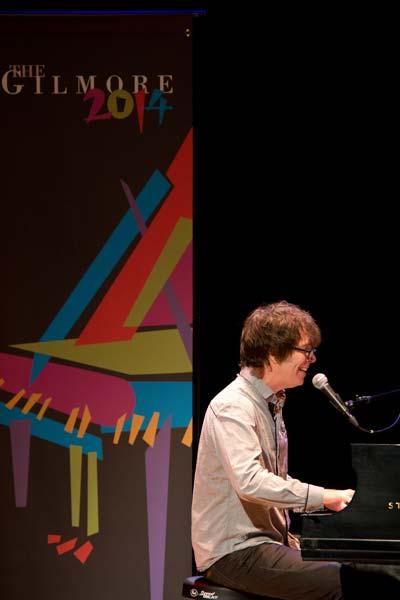 Ben Folds singing at Chenery Auditorium