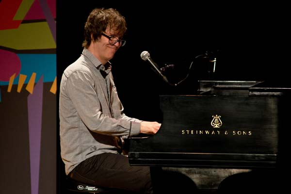 Ben Folds playing on a steinway