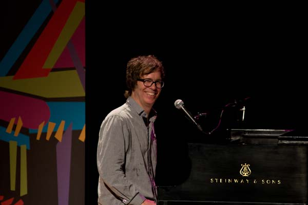 Ben Folds performing sold out show