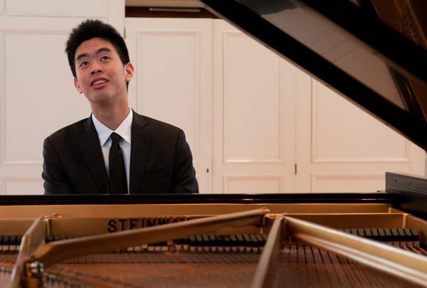 Andrew Hsu portrait performing