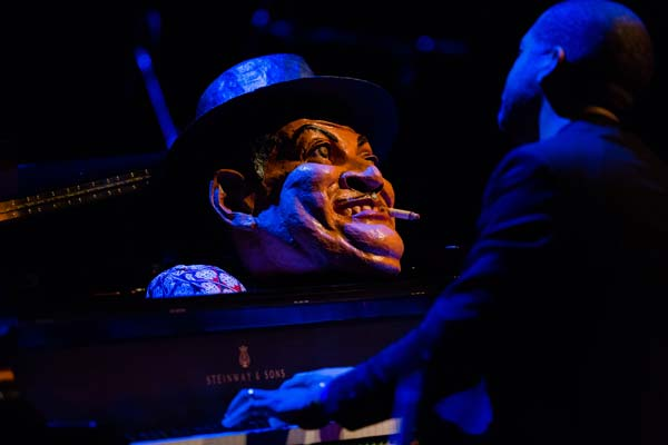 ason Moran's Fats Waller at piano