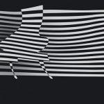 striped piano