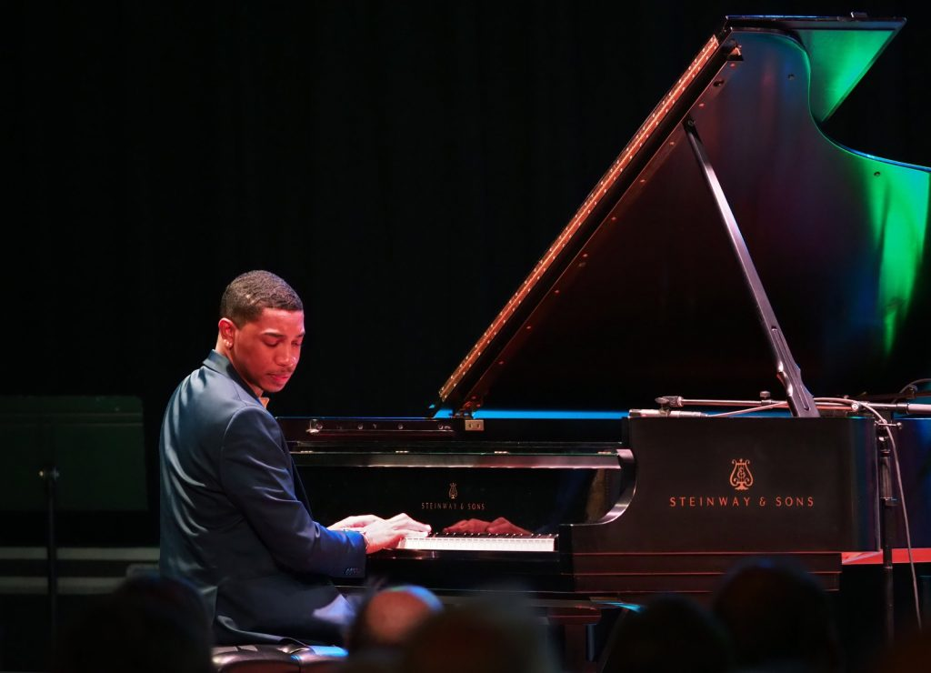 Christian Sands Trio pianist