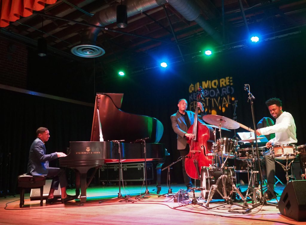 Christian Sands Trio performance