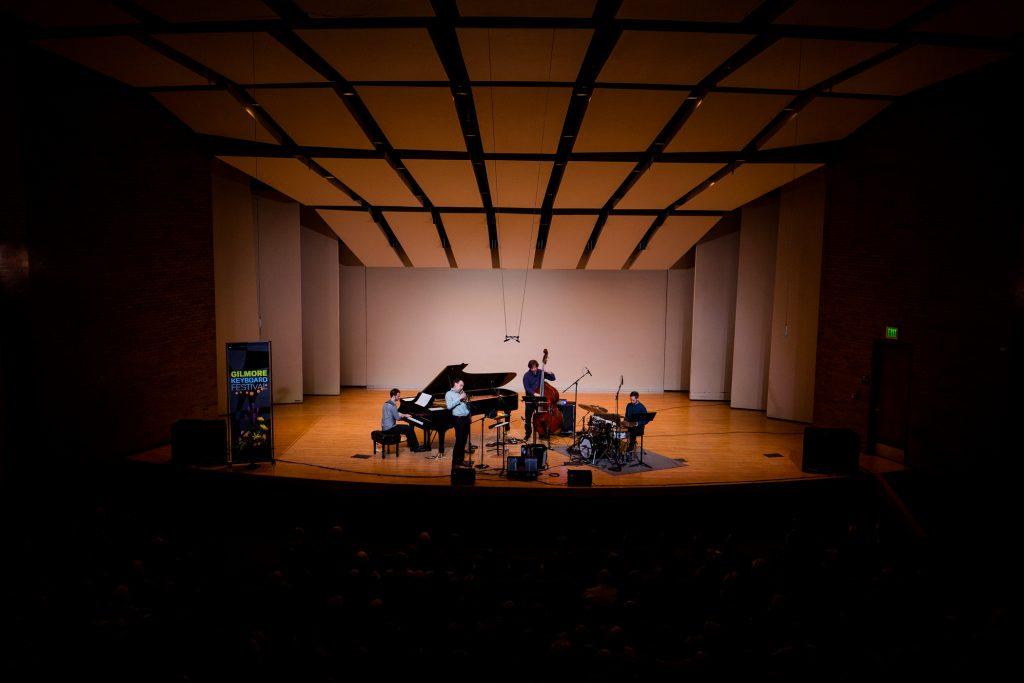 Julien Labrio quartet performance