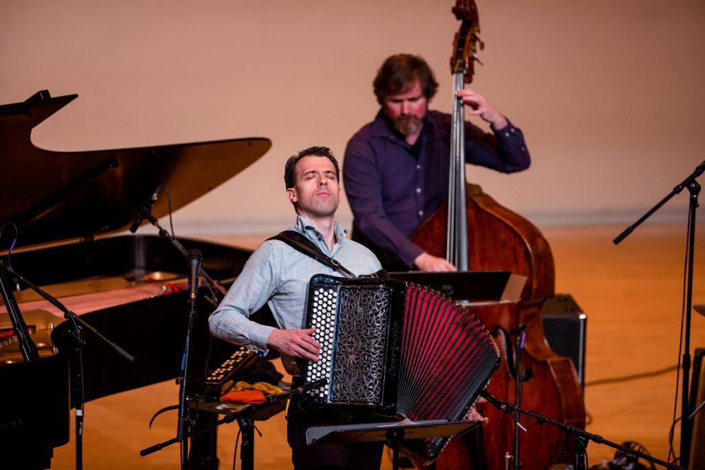 Julien Labrio quartet on stage