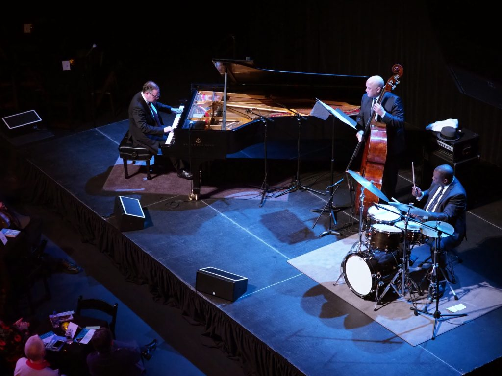 Bill Charlap Trio on stage