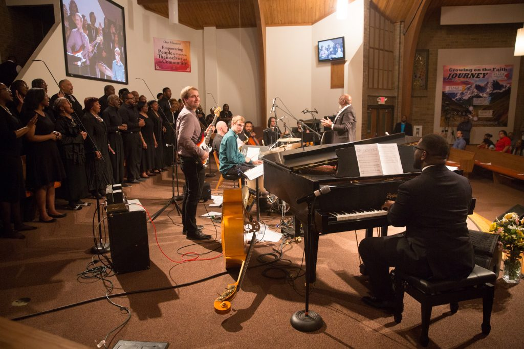 Rufus Ferguson Ensemble performing