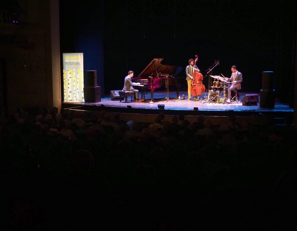 Emmet Cohen Trio on stage