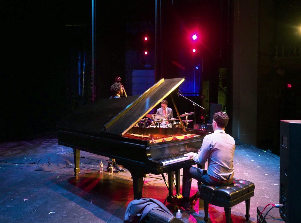 Emmet Cohen Trio performance