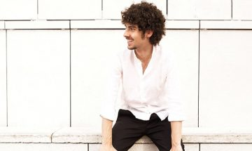 portrait of federico colli in front of white wall